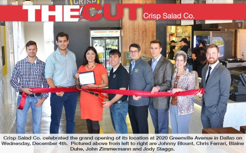 The Cut - Crisp Salad Co.